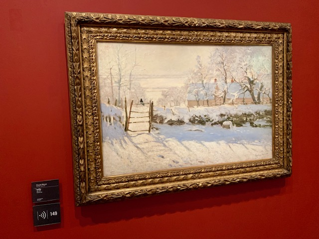 Monet's Magpie