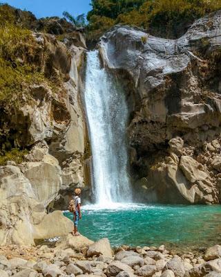 Mangku Sakti waterfall Sembalun Mount Rinjani