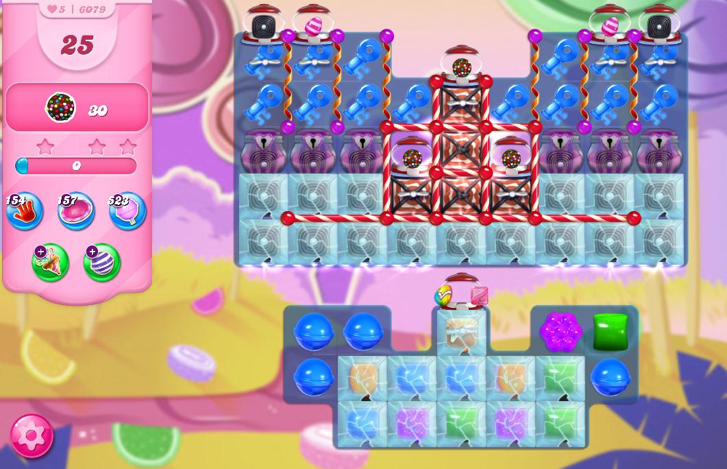 Candy Crush Saga level 6079