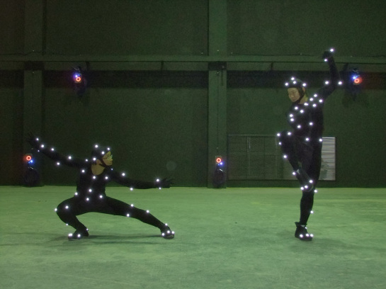 Motion Capture behind the scenes