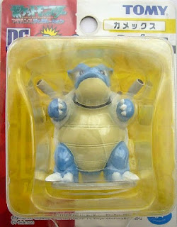 Blastoise Tomy Data Carrier Pokemon Figure