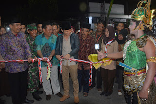 Wakil Bupati Arifin Resmikan Terminal Wisata Durenan