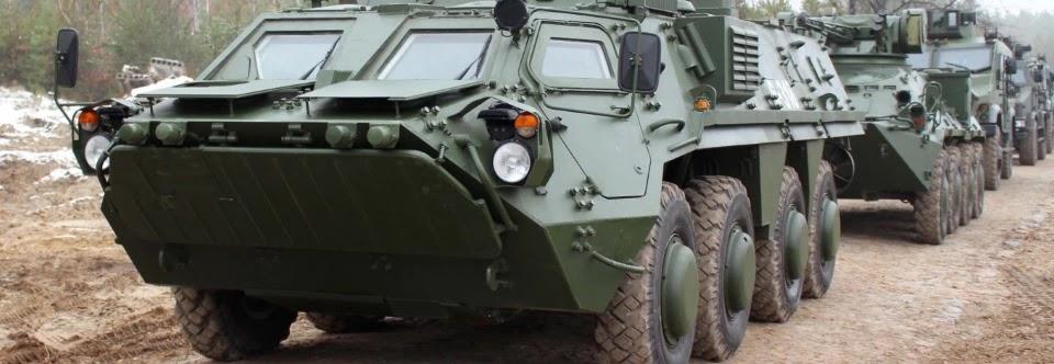 ХКБМ поставило Нацгвардії вісім бронетранспортерів БТР-4