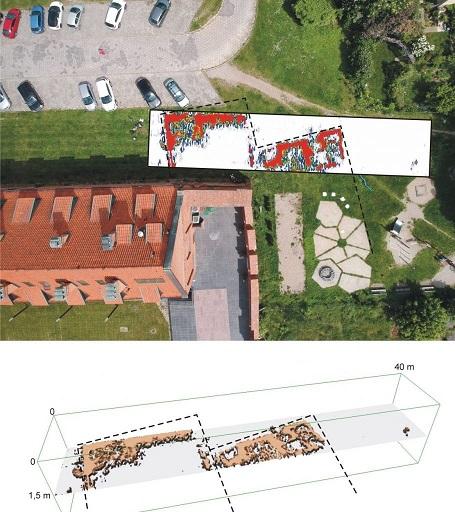Des archéologues trouvent une tour à l'extérieur du mur d'enceinte d'une forteresse teutonique