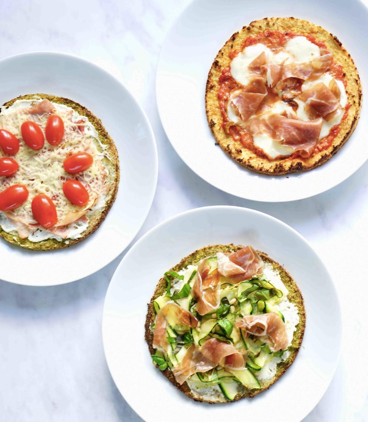 pizza végétarienne , chou fleur , pizza aux légumes , recette de Donna Hay