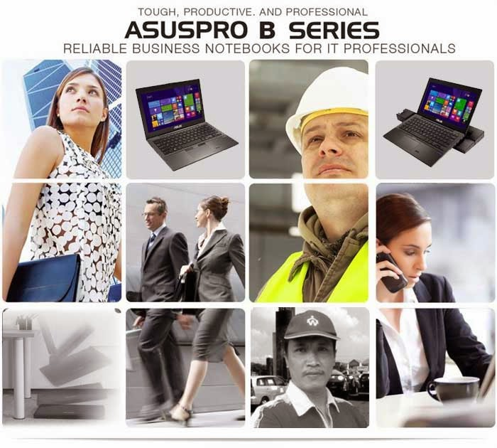 ASUSPRO BU201LA Notebook Handal Pebisnis