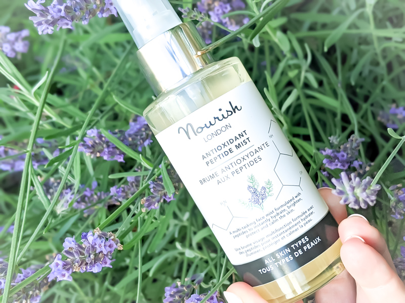 Nourish London Antioxidant Peptide Mist Bottle