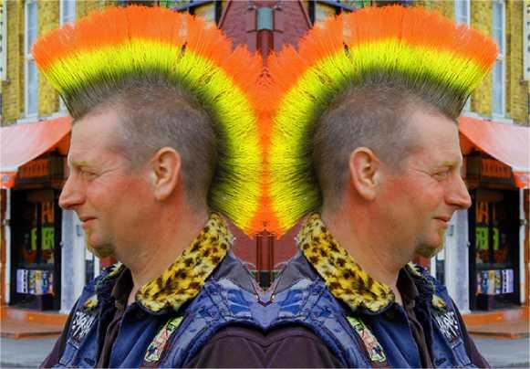 Cara membuat efek foto objek ganda (mirror) di Photoshop
