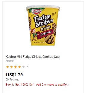 Cheap Keebler Cookie Cups at CVS