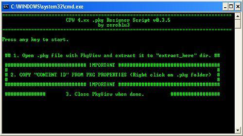 PS3 CFW 4 XX+  PKG Resigner Script v0 3 5 Released - MateoGodlike