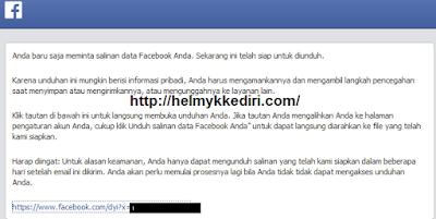 Cara Backup Semua Data diFacebook5