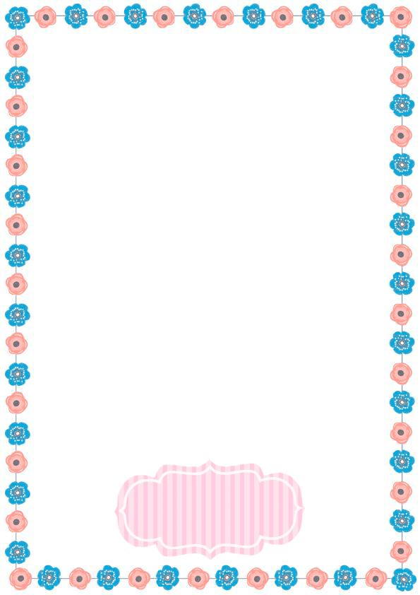 caratulas para cuadernos para niños y niñas de primaria de rosas