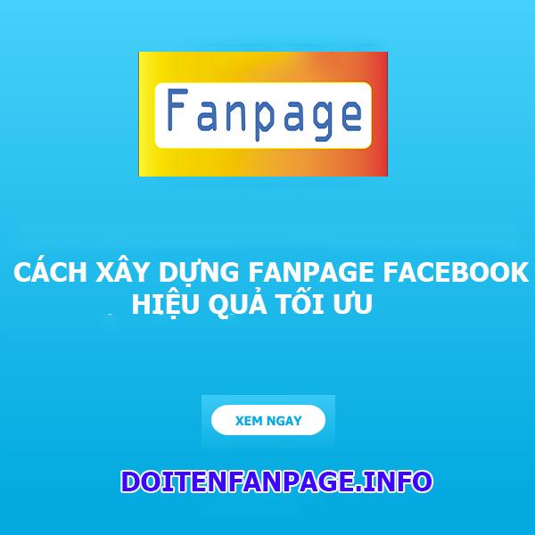 xay dung fanpage facebook hieu qua