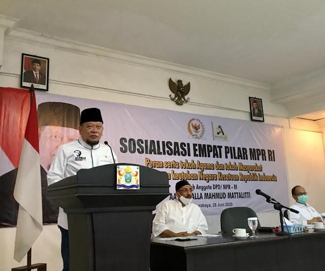 DPD RI: Lima Sila Sudah Final, Agama Bukan Ancaman Pancasila