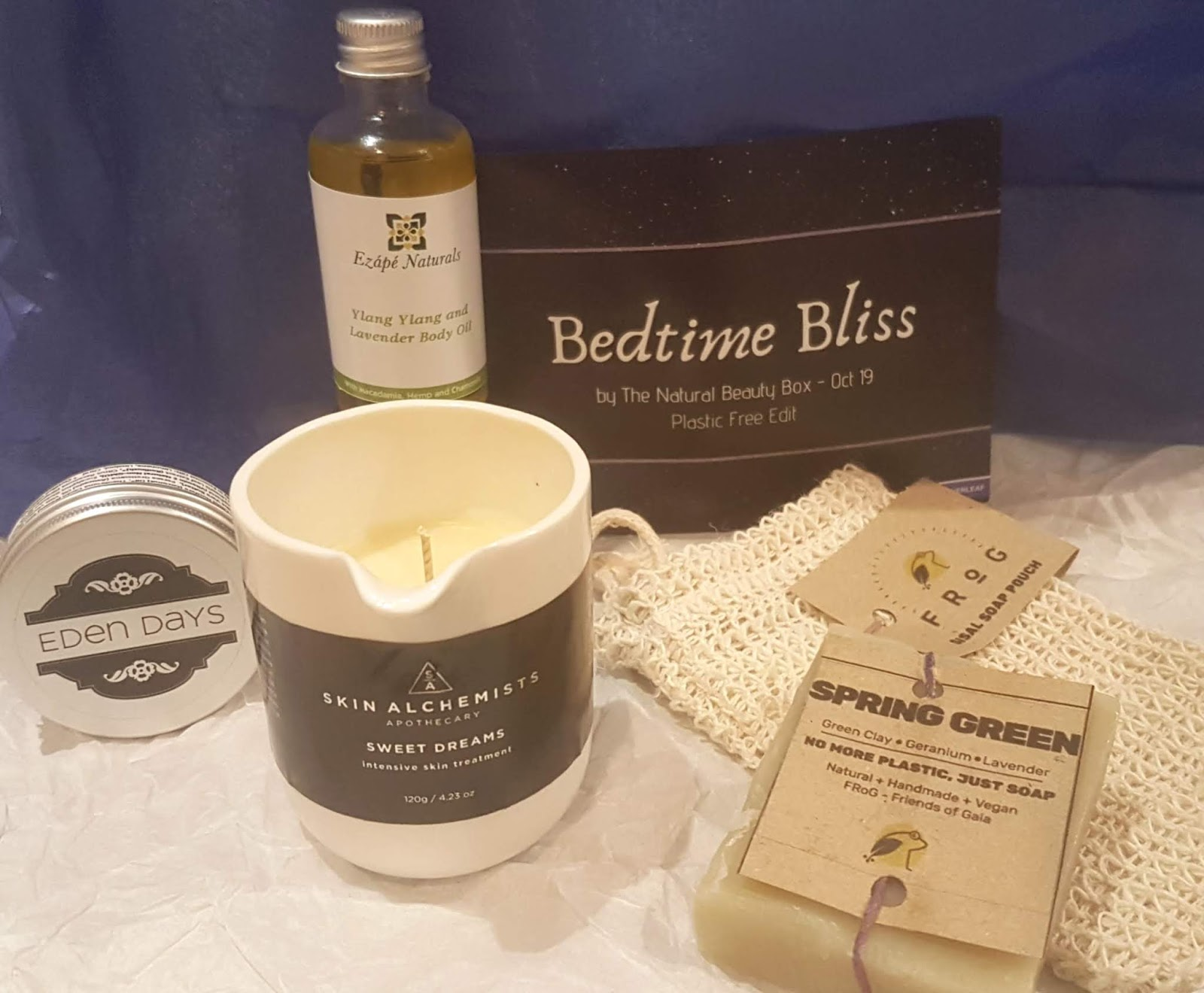 The Natural Beauty Box - Bedtime Bliss Review