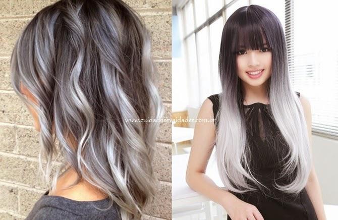 Como chumbar ou acinzentar um cabelo?