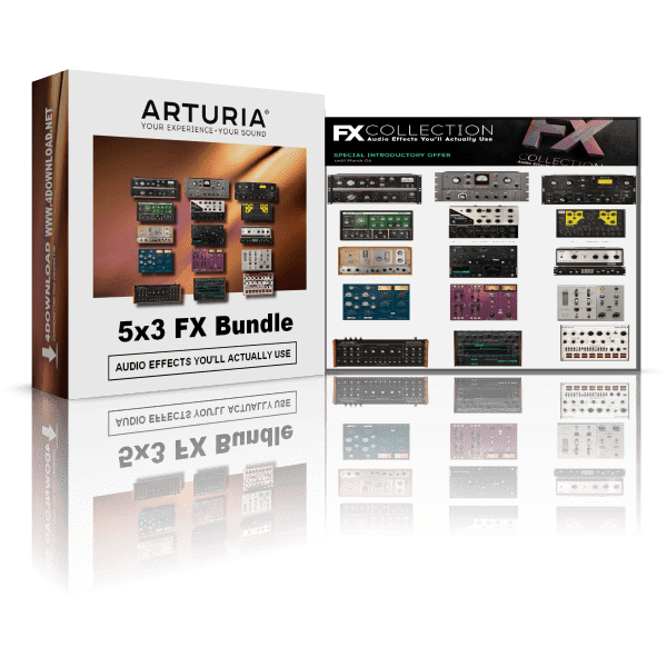 Arturia 5 x 3 FX Bundle v2020.2 Full version