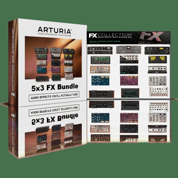 Arturia 5 x 3 FX Bundle v2020.2 Full version