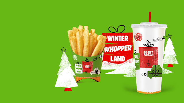 Burger King's Instant Win Game and Sweepstakes will be awarding over ONE HUNDRED MILLION dollars worth of prizes to celebrate the Holidays!