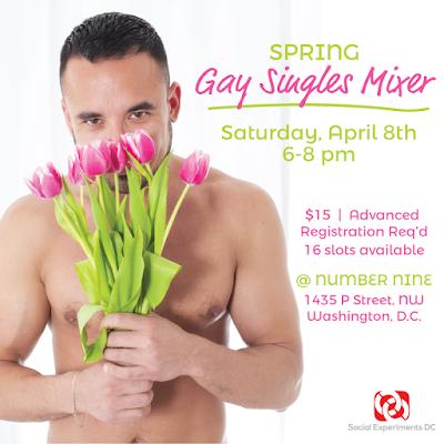 Spring Gay Singles Mixer- DC