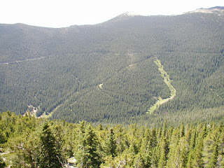 Location of former Hidden Valley/ Ski Estes Park Ski Area in Rocky Mountains N.P.
