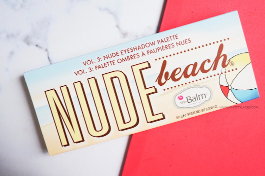 Knotty Laces: TheBalm Nude Beach Eyeshadow Palette - Review and Swatches