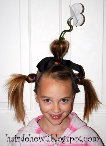 hairdo how to crazy hair day the flowerpot