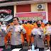 Polres Tebing Tinggi Gelar Operasi Antik Toba 2021, Berhasil Ungkap 25 Kasus Menahan 35 Orang Tersangka