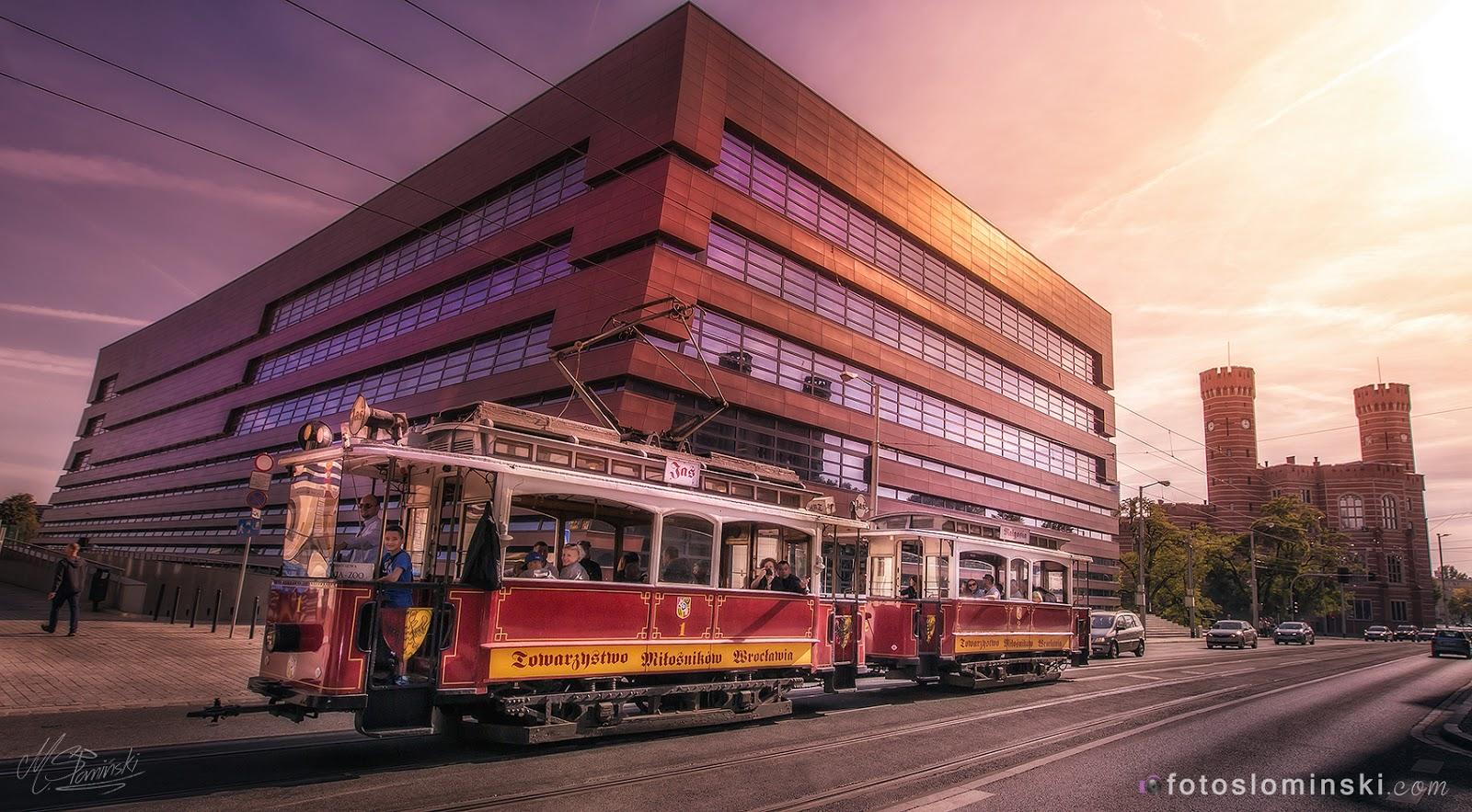 Miasto Wrocław - Zdjęcia - NFM - Tramwaj Jaś i Małgosia z Wrocławia #ZdjęciaSłomińskiego.