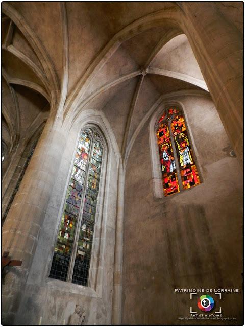 CHATEL-SUR-MOSELLE (88) - Eglise Saint-Laurent (XVe-XIXe siècle) (Intérieur)