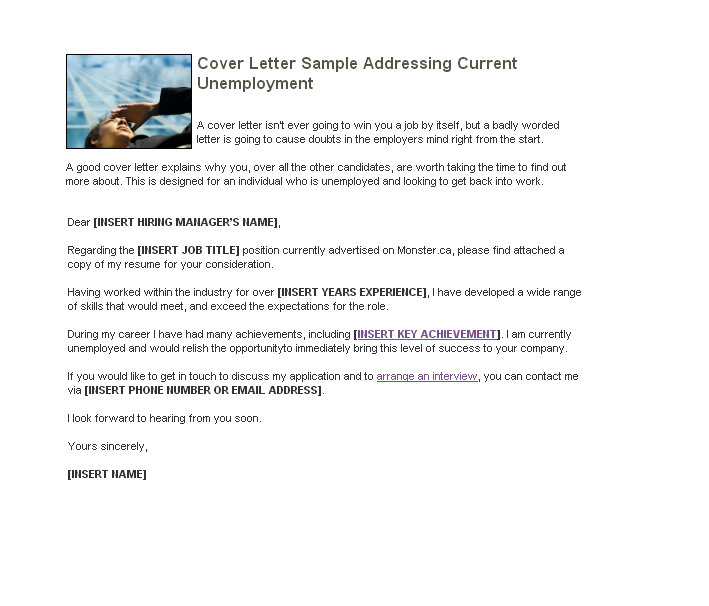 example of a cover letter blog  sample cover letter