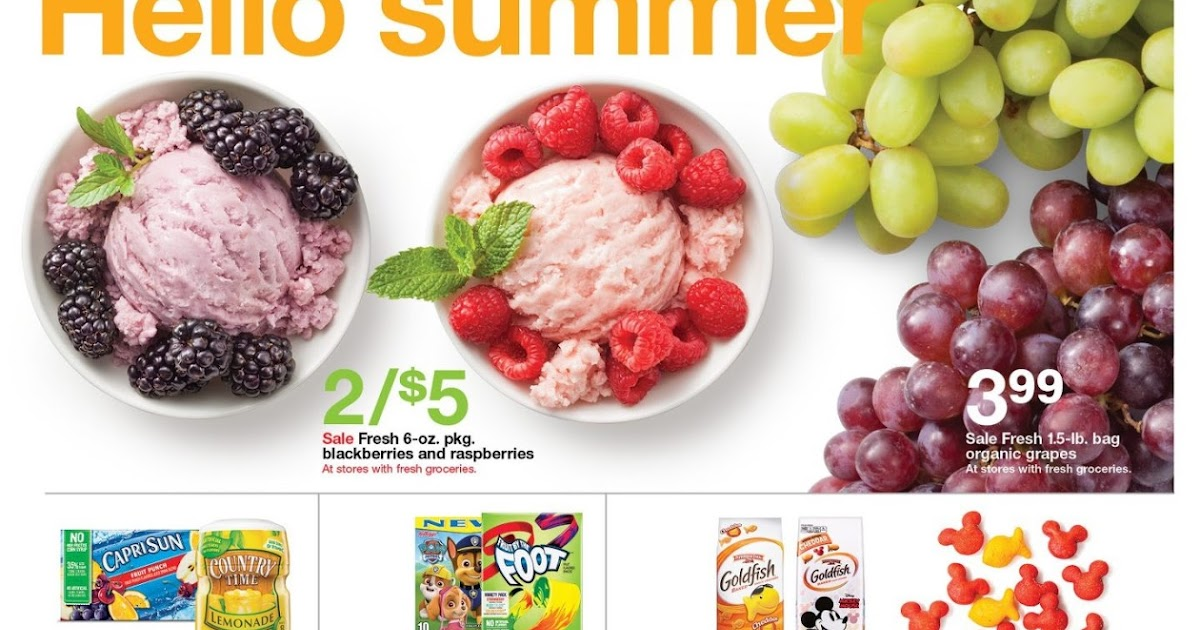 Target Weekly Ad June 3 9 2018 Grocery Weekly Ads