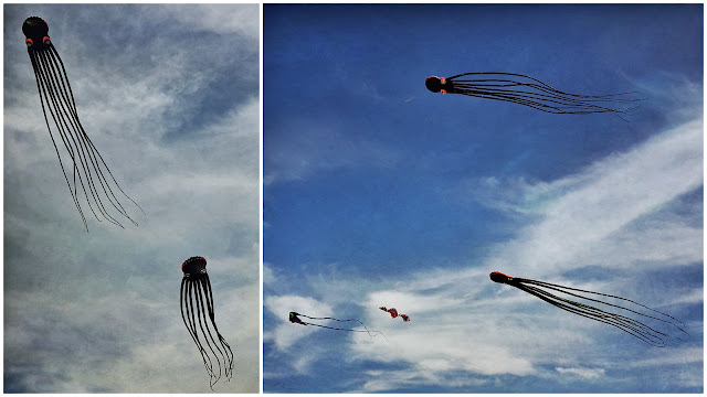 Creepy kites...