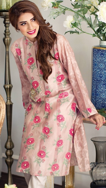 All about women fashion designer clothing and the latest fashion - Agha Noor Eid Kurtis Collection At Pfw9 2016 17