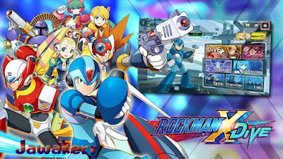 Download the game MEGA MAN X Dive with the latest direct link 2021