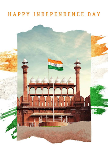 Red fort image independence day