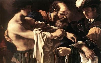 Os ensinamentos de Jesus em o retorno do filho prodigo