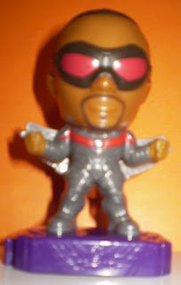 Front of Marvel Studios Heroes #1 Falcon Action Figure