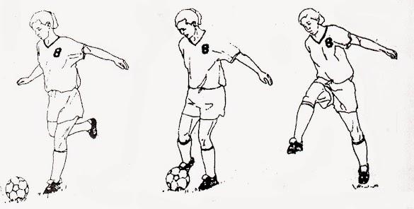 Teknik Cara Menendang Bola dalam Permainan Sepakbola