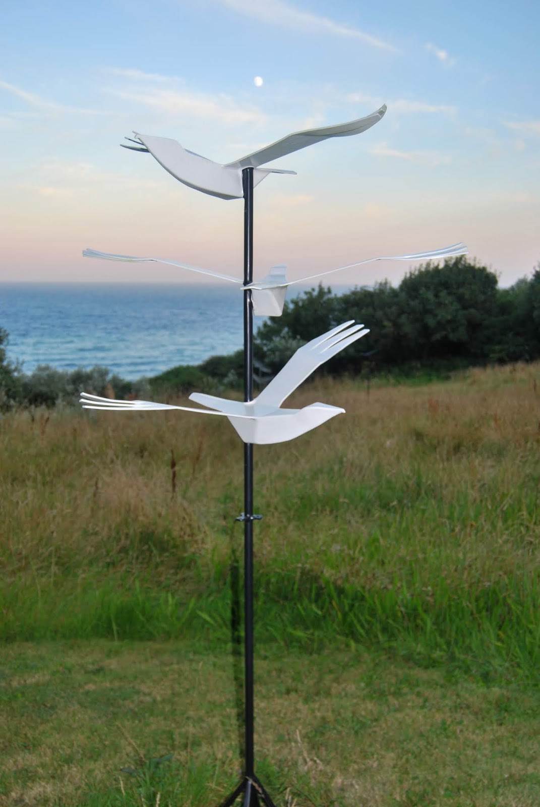 Cornish Tales - Unmissable Sculpture Park in Cornwall, sculptures by Terence Coventry, photo by Sarah Agnew