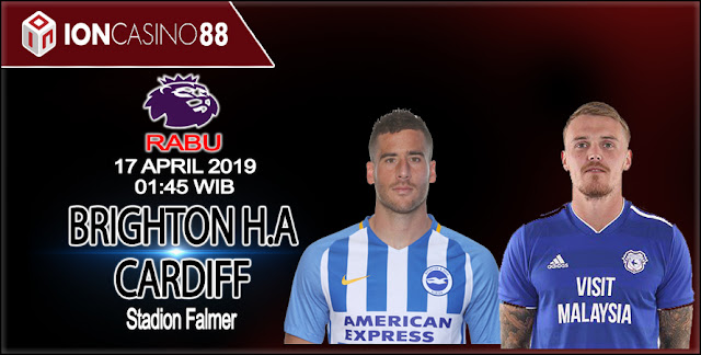 Prediksi Bola Brighton & Hove Albion vs Cardiff City 17 April 2019