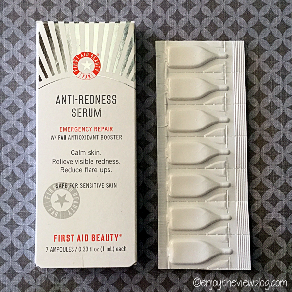 First Aid Beauty Anti-Redness Cream Emergency Repair ampoules