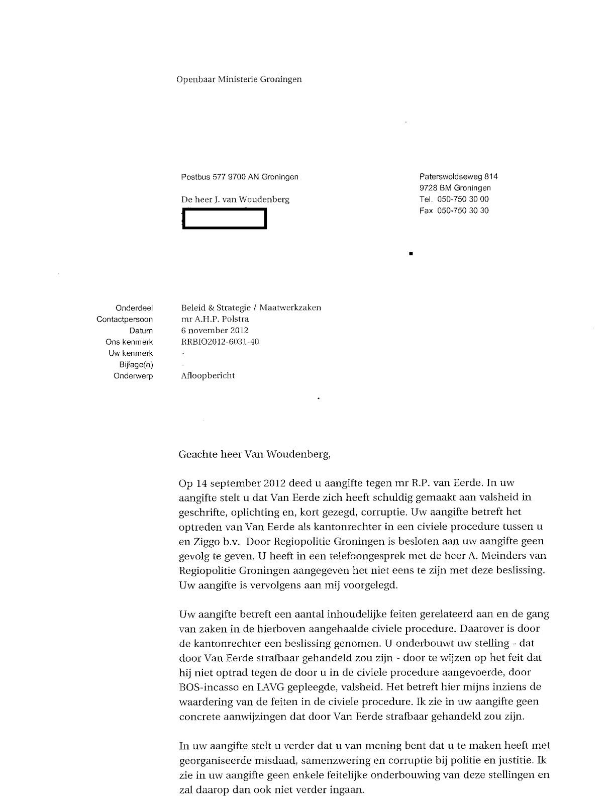 brief aan rechter schrijven Brief Aan Rechter Schrijven | hetmakershuis