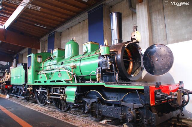 Locomotiva al Museo ferroviario di Mulhouse