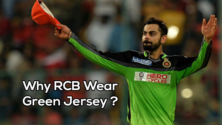 Why RCB Wear Green Jersey in Some Match ? Facts, Records & Stats