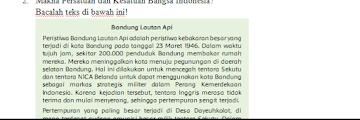 Soal Harian Kelas 6 Tema 2 Kurikulum 2013