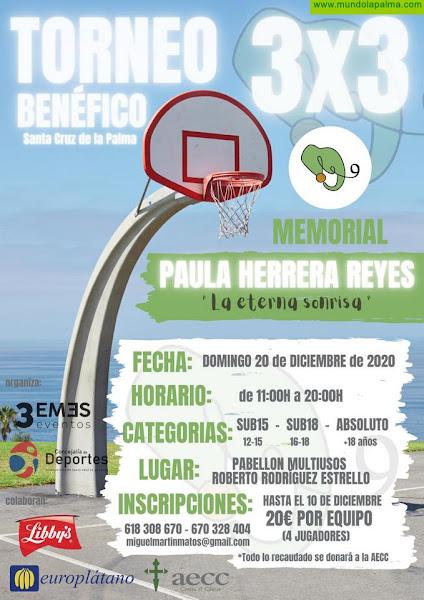 Santa Cruz de La Palma organiza el Memorial Paula Herrera Reyes 'La sonrisa eterna'
