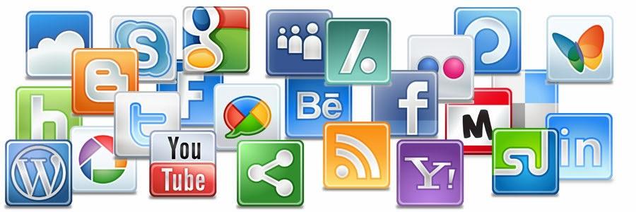 طريقة إنشاء شريط الشبكات الإجتماعية العائم