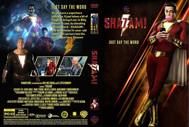 Shazam! DVD DVD Cover