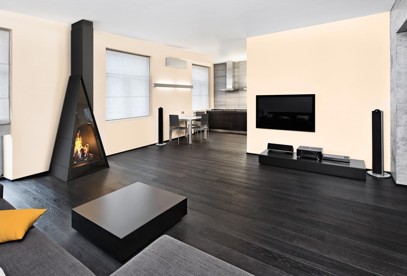 Casas modulares y prefabricadas de dise o chimeneas de - Chimeneas de esquina modernas ...